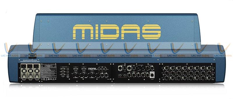 Hệ thống kết nối của mixer Midas PRO X-CC-IP