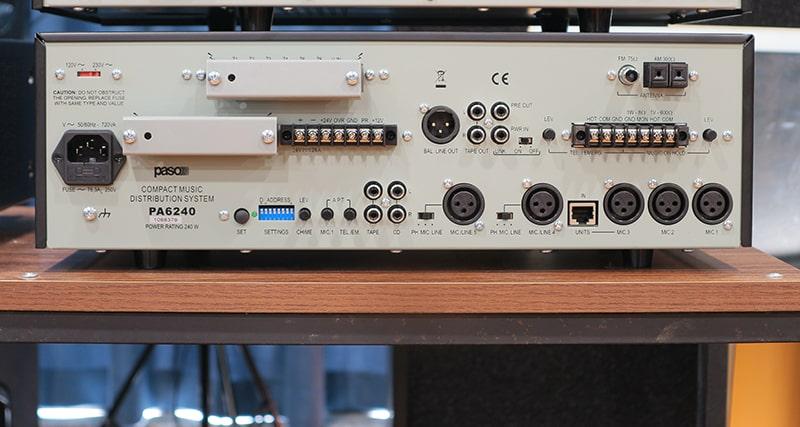 Hệ thống kết nối của PASO PA-6240