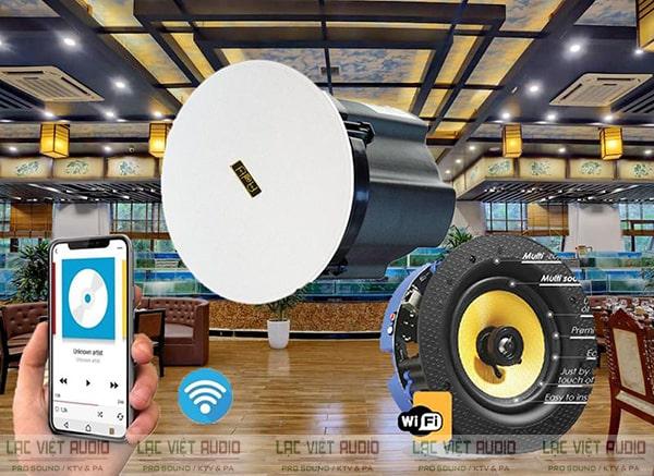 Thiết bị cho khả năng kết nối không dây thông minh và dễ dàng điều khiển bằng smartphone