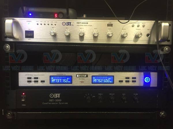 Micro không dây SHURE BLX 68A và OBT 6060B