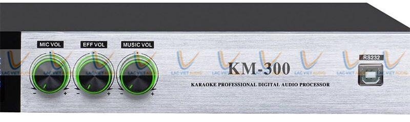 Hệ thống nút điều chỉnh của EUDAC KM-300