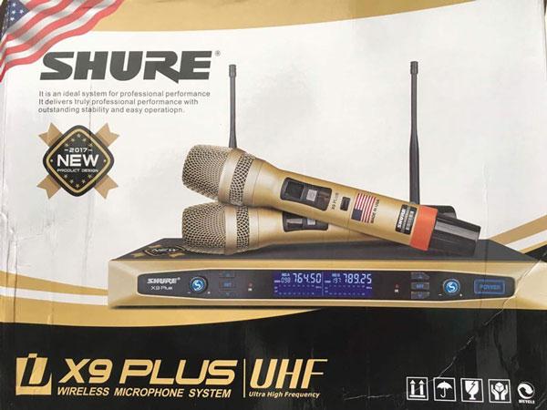Micro Shure UGX9 Plus chất lượng giá tốt nhất