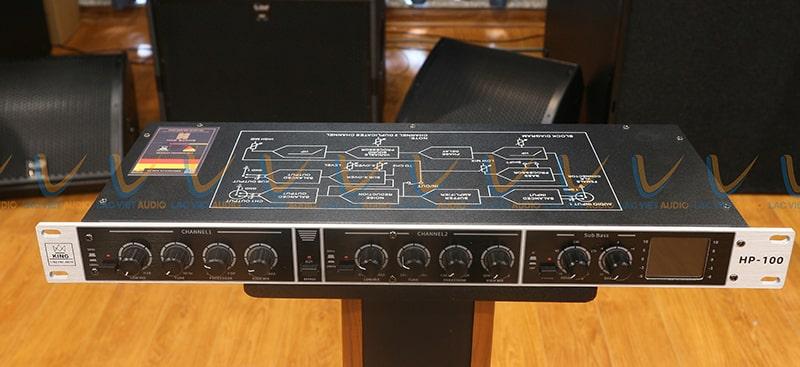 Hình ảnh thực tế của King HP-100 tại Lạc Việt Audio