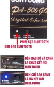 kết nối điện thoại với amply bằng bluetooth và dây