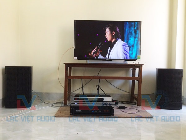 Dàn âm thanh mới đón xuân cho gia đình anh Tuấn