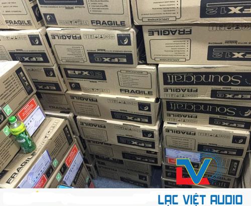Kho hàng mixer soundcraft EFX8 của Lạc Việt Audio