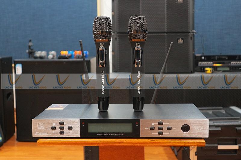 King EW250 cho chất lượng âm thanh tuyệt vời