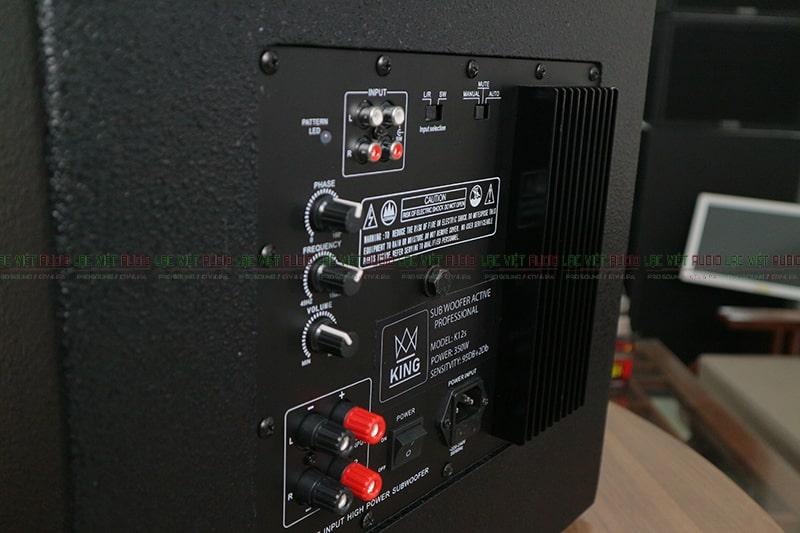 Hệ thống điều khiển, kết nối của K12s