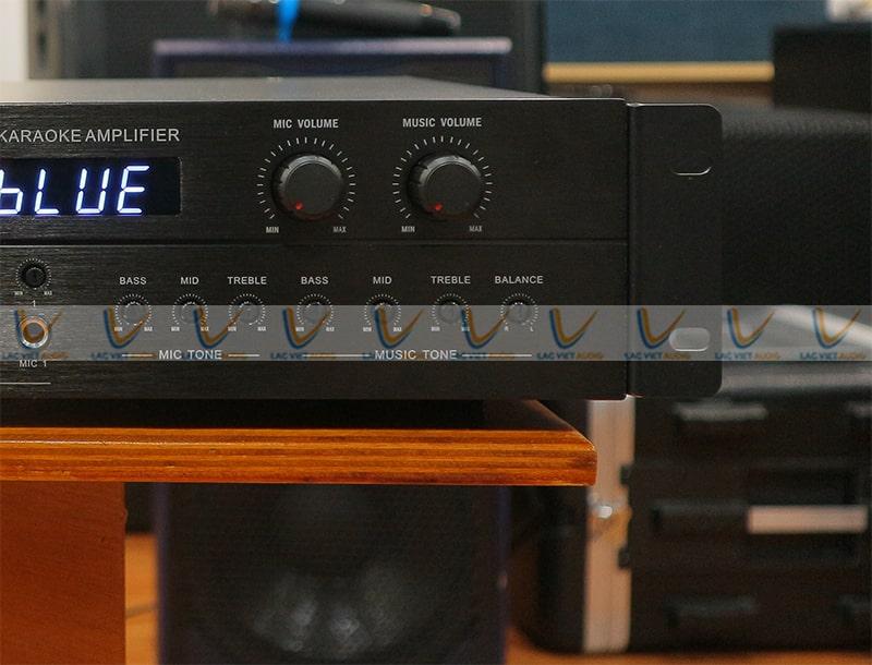 King SA 900 điều chỉnh bass, mid, treble cho âm thanh tuyệt vời