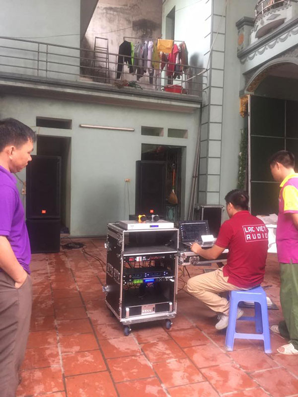 KTV Lạc Việt setup hệ thống