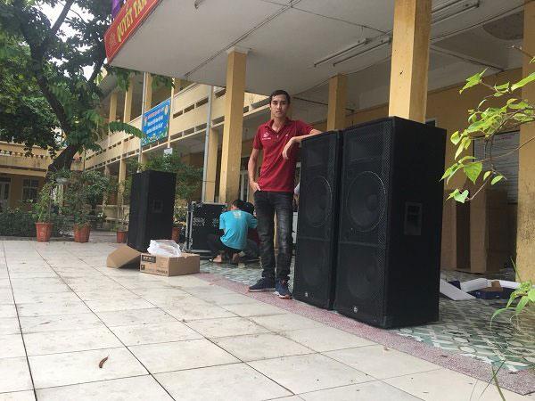 Loa sân khấu giá rẻ Lạc Việt Audio lắp cho khách hàng