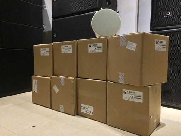 Công ty cổ phần âm thanh Lạc Việt phân phối loa TOA F-2322C giá rẻ