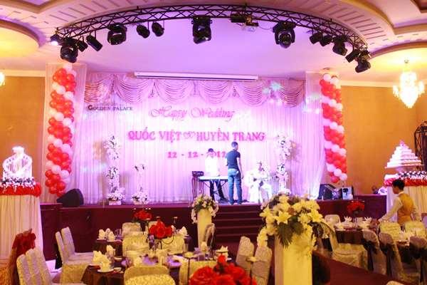 Cung cấp dàn âm thanh cho nhà hàng tiệc cưới Đức Tài
