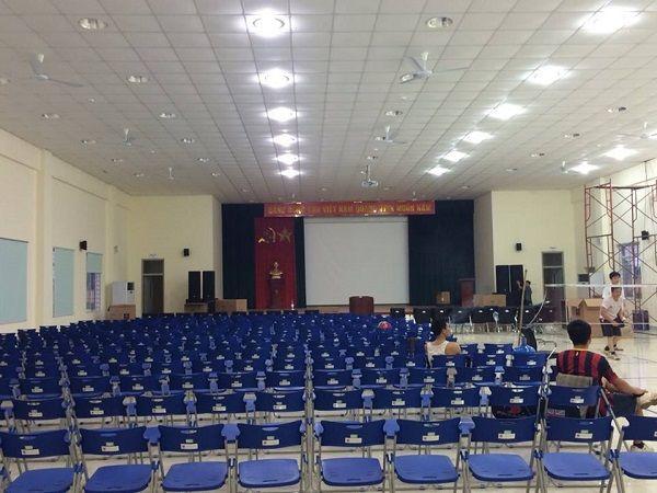 Cung cấp và lắp đặt hoàn thiện hệ thống âm thanh cho trường cao đẳng nghề Bắc Hàn