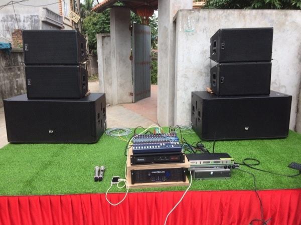 Cả bộ dàn của anh Tùng được Lạc Việt audio lắp đặt.