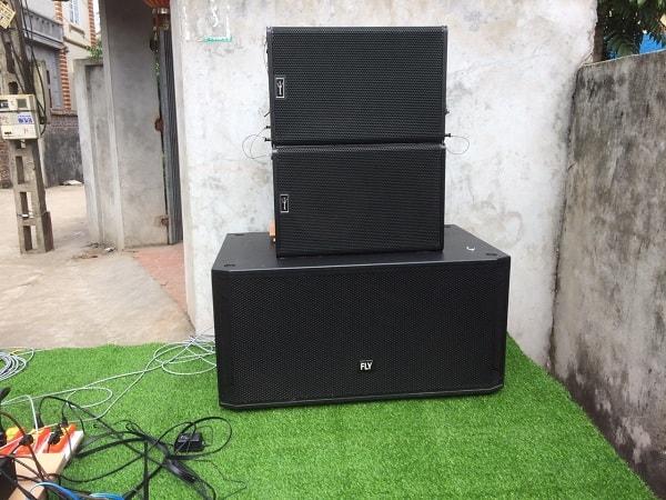 Loa sub và loa array AR 115