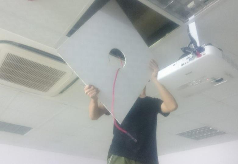 Lắp đặt loa âm trần tại trường Hàn Quốc - Hà Nội