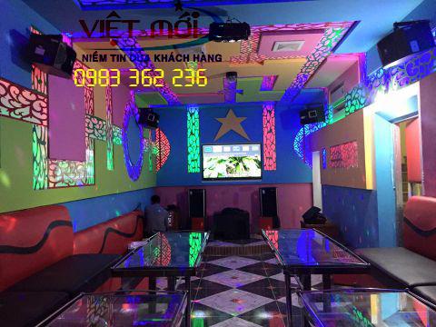 Lắp loa JBL KS310 cho quán karaoke MYLY ở Sơn La