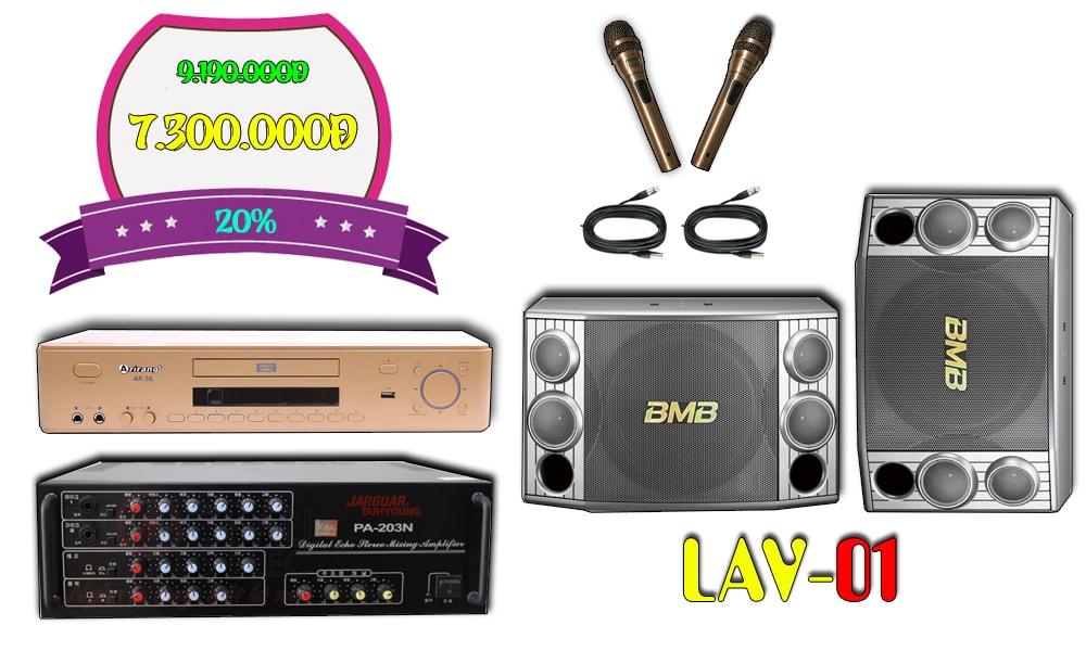 Bộ dàn karaoke LAV-01