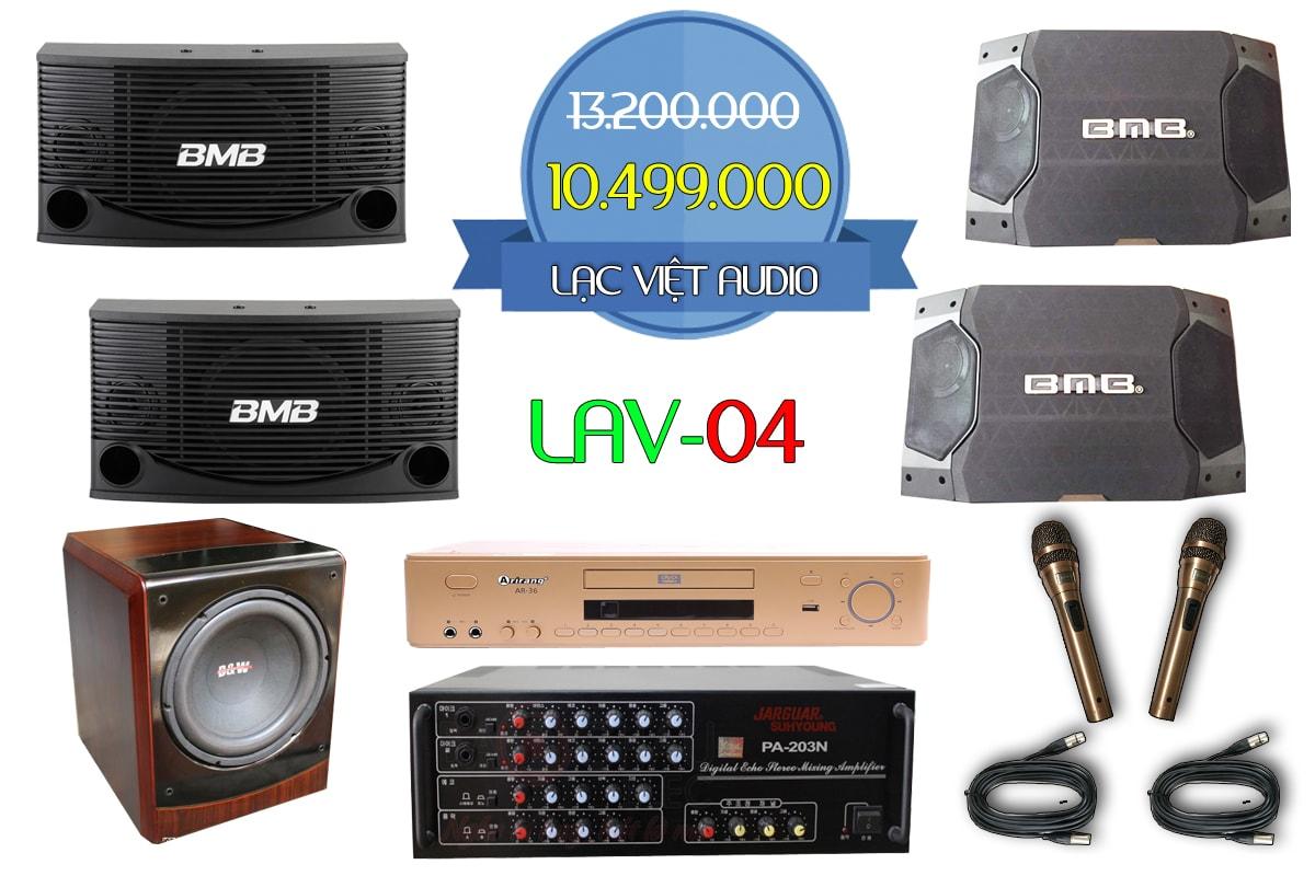 Bộ dàn karaoke gia đình LAV 04