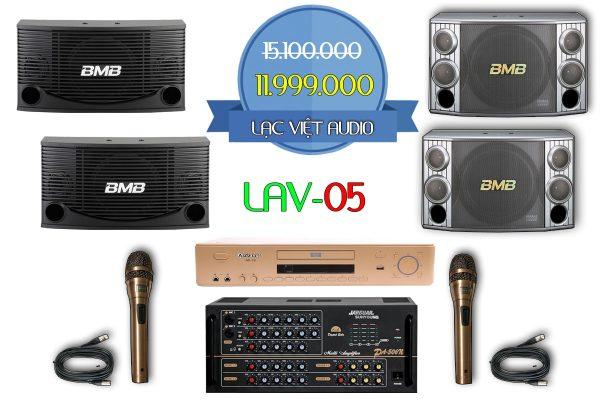 Bộ dàn karaoke gia đình LAV 05