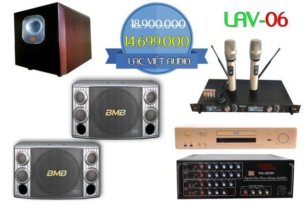Bộ dàn karaoke gia đình LAV-06