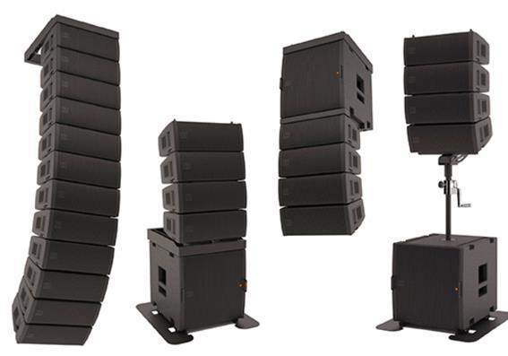 Loa array KING PRO AUDIO được sử dụng phổ biến ở các hội trường lớn không gian rộng