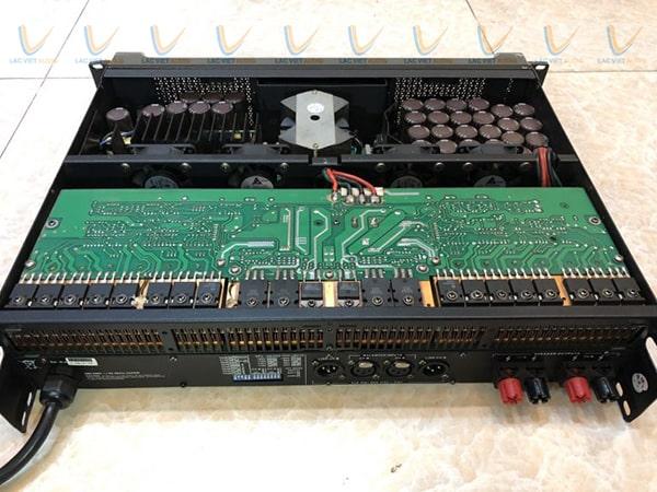Cục đẩy bãi DH Audio P224 chất lượng với những linh kiện cap câp