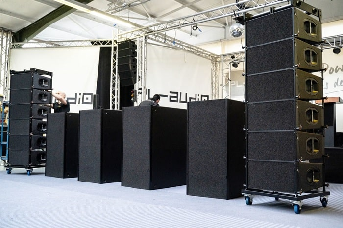 Loa array PL-audio LA210 công nghệ của Đức sản xuât tại Đức