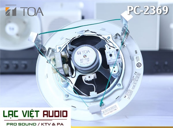 Loa Toa PC-2369 cho khả năng tái tạo âm thanh tuyệt vời