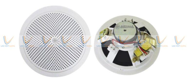 Loa âm trần Asima được sản xuất trên dây chuyền hiện đại