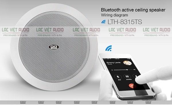 Sản phẩm được trang bị công nghệ bluetooth thông minh với kết nối ổn định