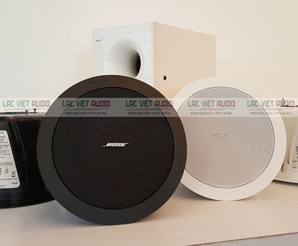 Loa âm trần Bose được đánh giá cao về thiết kế cũng như chất lượng sản phẩm