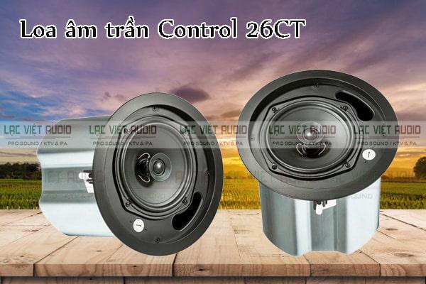 Mua các sản phẩm loa âm trần JBL Control 26CT chất lượng giá tốt tại Lạc Việt Audio