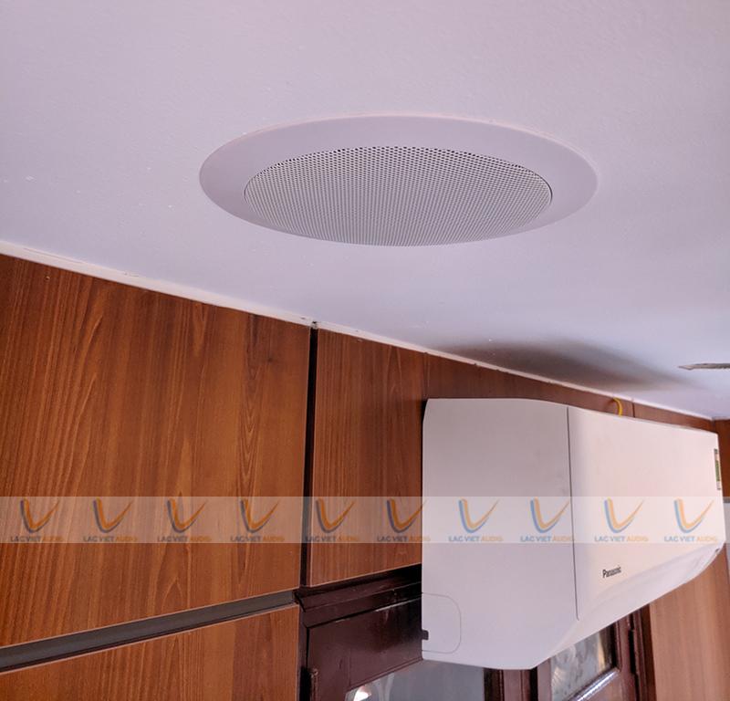 Loa âm trần DB TS303 được lắp đặt ở Showroom, bệnh viện, tòa nhà văn phòng, Spa...