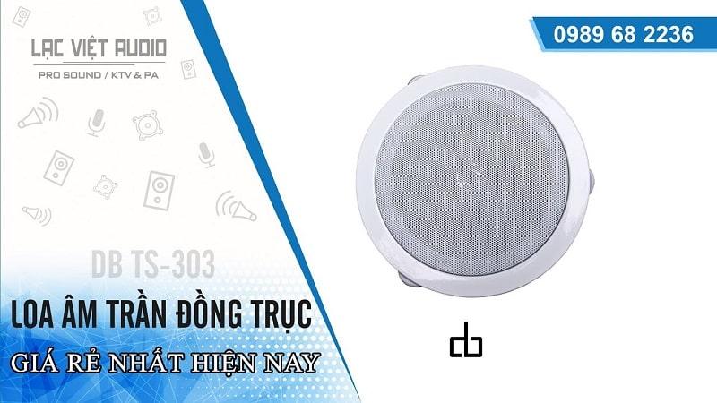 Loa âm trần DB-TS303
