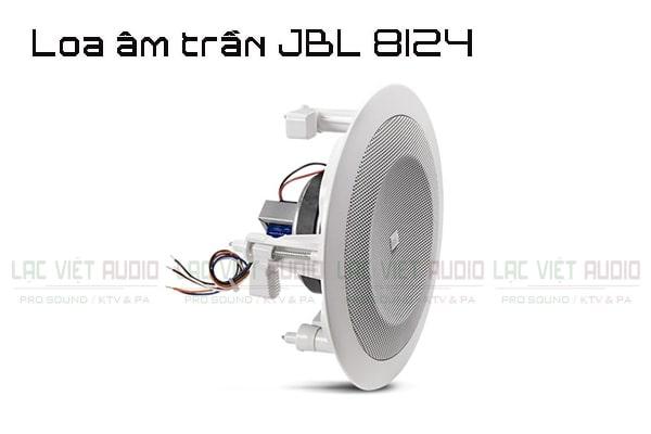 Loa âm trần JBL 8124 có thiết kế hiện đại và nhiều tính năng âm thanh nổi bật