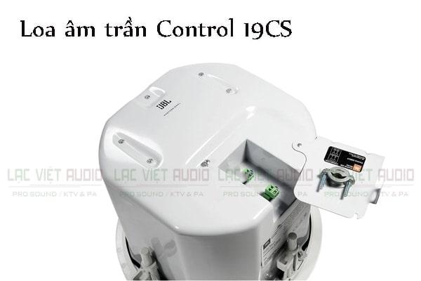Loa âm trần JBL Control 19CS được trang bị những tính năng nổi bật cho chất lượng âm thanh tuyệt vời