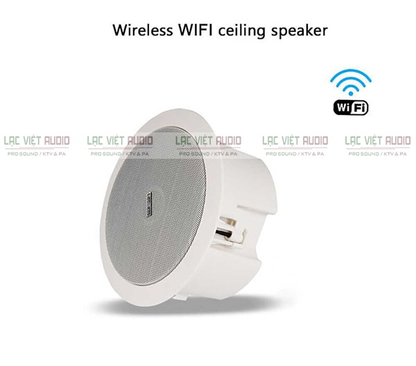 Loa âm trần kết nối wifi cho chất lượng âm thanh rõ ràng, chân thực và sống động