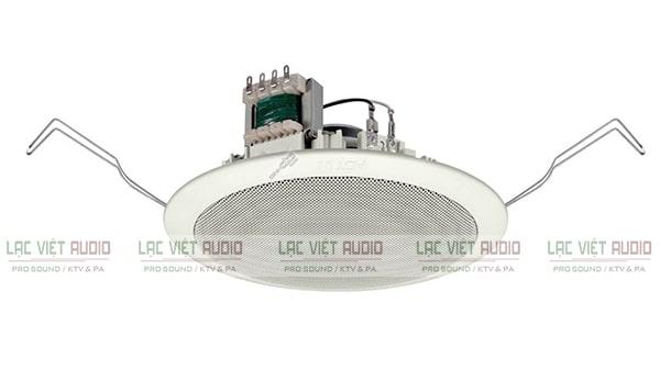 Loa âm trần Toa được sử dụng phổ biến trong các hệ thống âm thanh thông báo