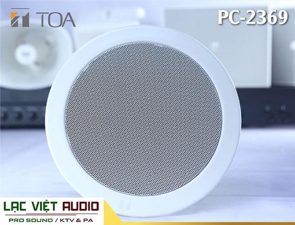 Loa âm trần 6W Toa PC-2369 thiết kế hiện đại và dễ dàng lắp đặt