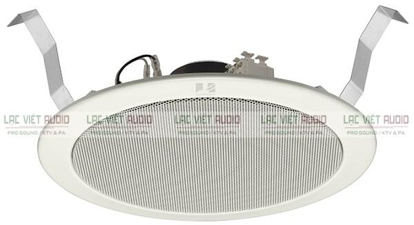 Loa âm trần TOA PC-2369 được ứng dụng phổ biến cho nhiều hệ thống âm thanh thông báo