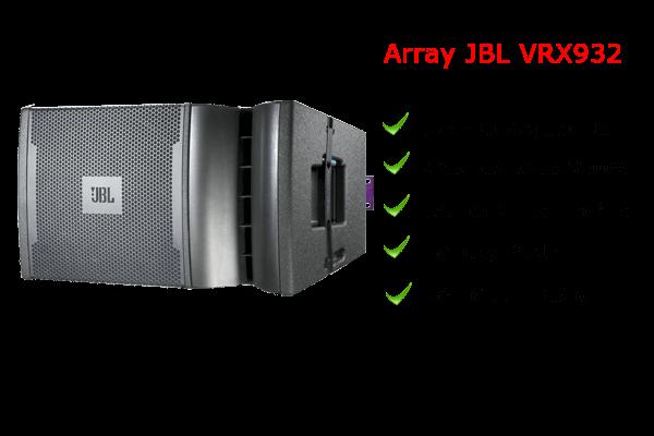 Loa array JBL VRX 932 chất lượng vượt trội