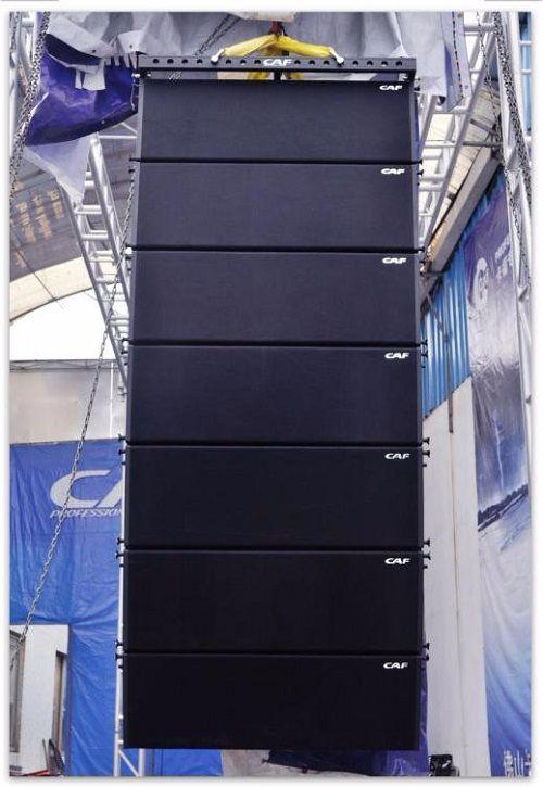 Hình ảnh Loa Array CAF CF-1830 được lắp đặt cho khách hàng