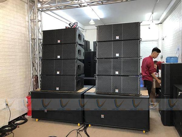 Loa array chất lượng với khả năng tái tạo và khuếch đại âm thanh tốt