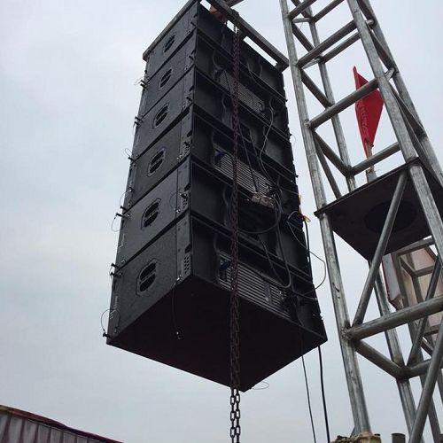loa Array liền công suất tại Lạc Việt Audio