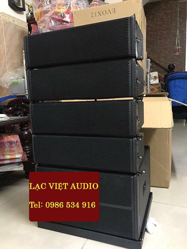 Dàn loa array mini và SUB bass Array