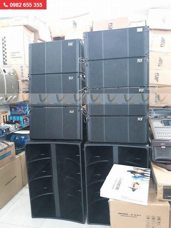 Loa array 30 đôiFLY Ar1020 có mức công suất lớn và khả năng truyền tải âm thanh mạnh mẽ