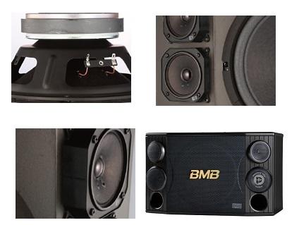 Chi tiết loa karaoke BMB CSD 2000