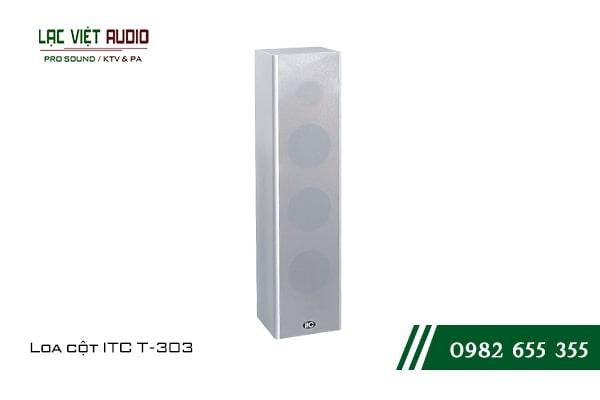 Loa cột ITC T303 thích hợp với nhiều không gian và dễ ghép nối với các thiết bị khác
